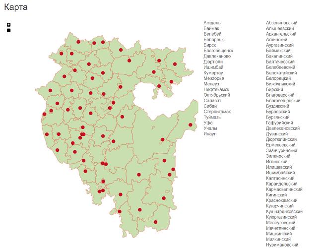 Карта аптек
