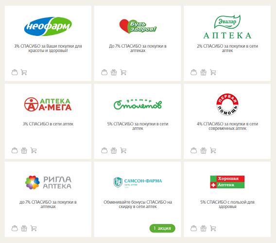 Аптеки-партнеры
