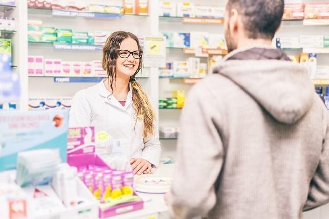 Получение заказа в аптеке